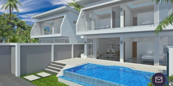 New 3 Bedroom Villa with Sea View Plai Laem - Koh Samui - for sale 2
