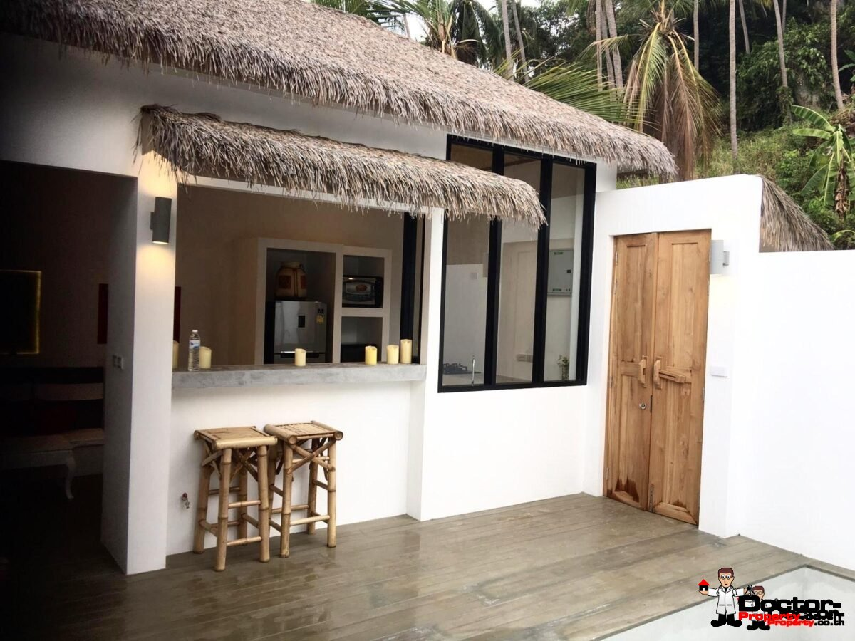 New 2 Bedroom Villa with Sea View - Lamai Beach - Koh Samui
