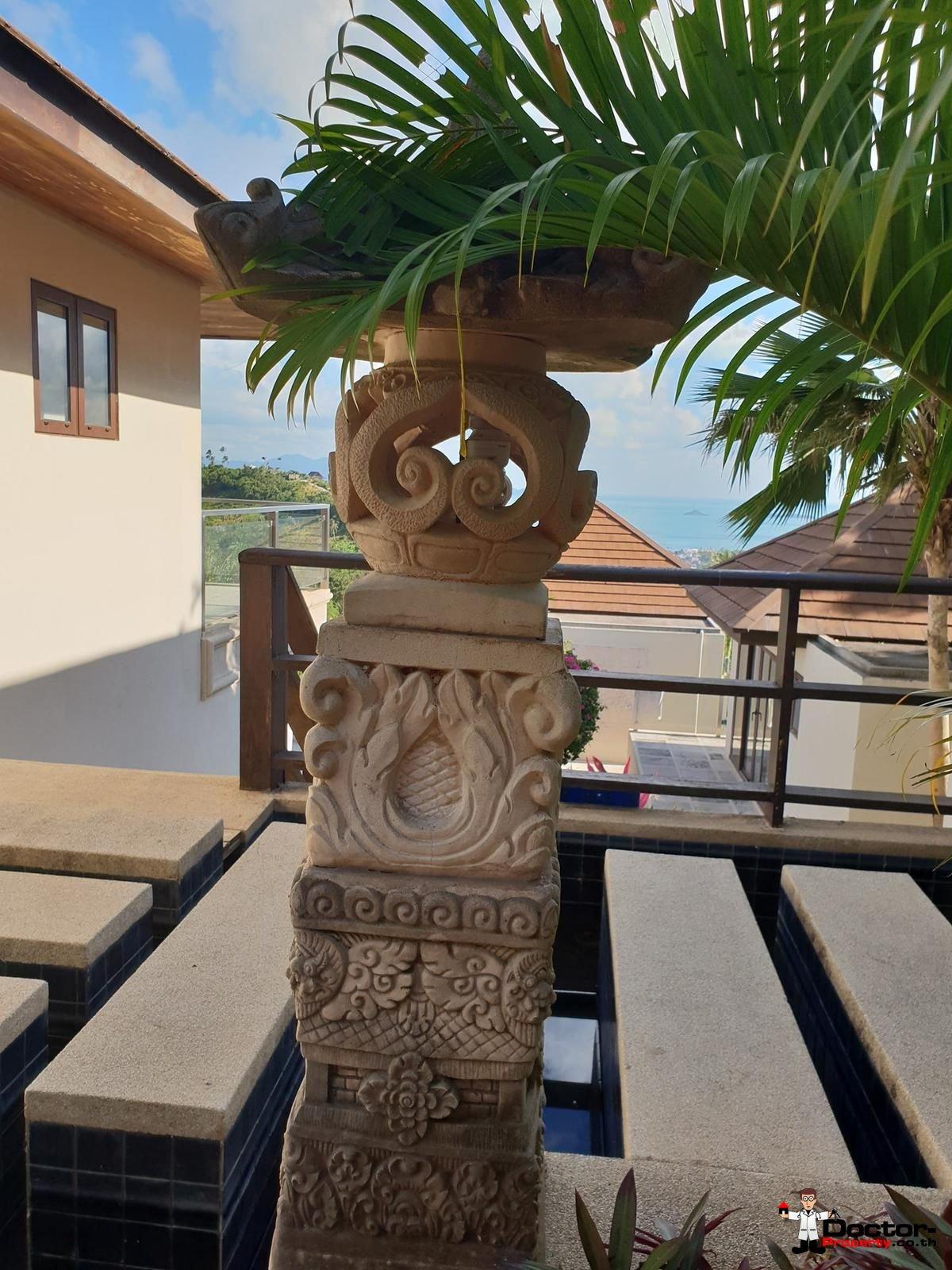 6 Bedroom Villa with Sea View - Bophut - Koh Samui - for sale 13