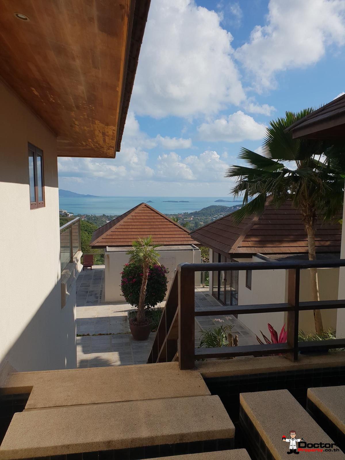 6 Bedroom Villa with Sea View - Bophut - Koh Samui - for sale 15
