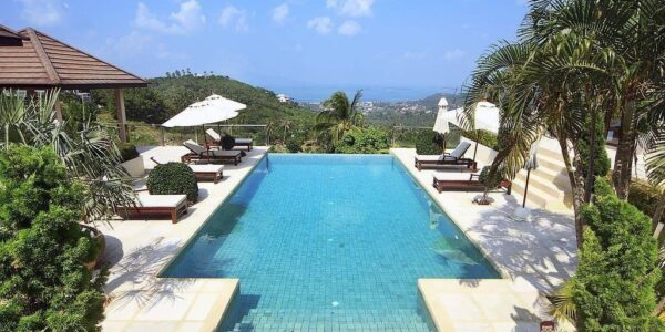 6 Bedroom Villa with Sea View - Bophut - Koh Samui - for sale