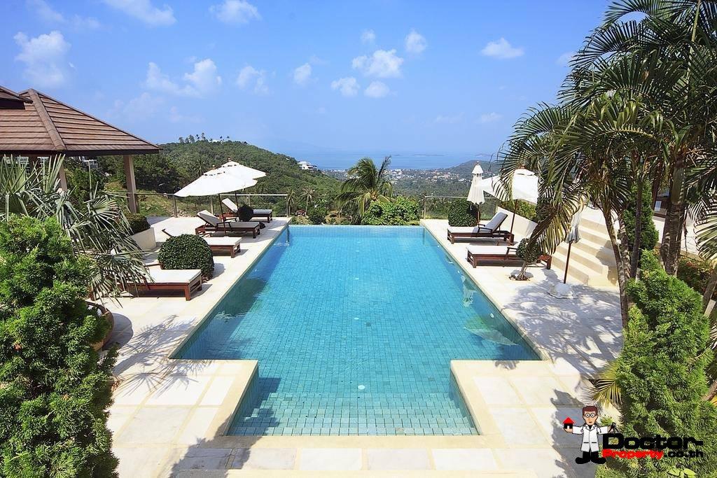 6 Bedroom Villa with Sea View - Bophut - Koh Samui - for sale