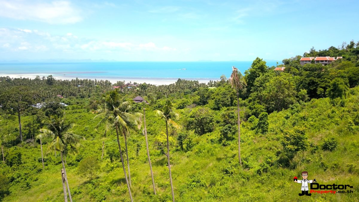 Selection of Serviced Sea View Plots - Angthong, Koh Samui - For Sale