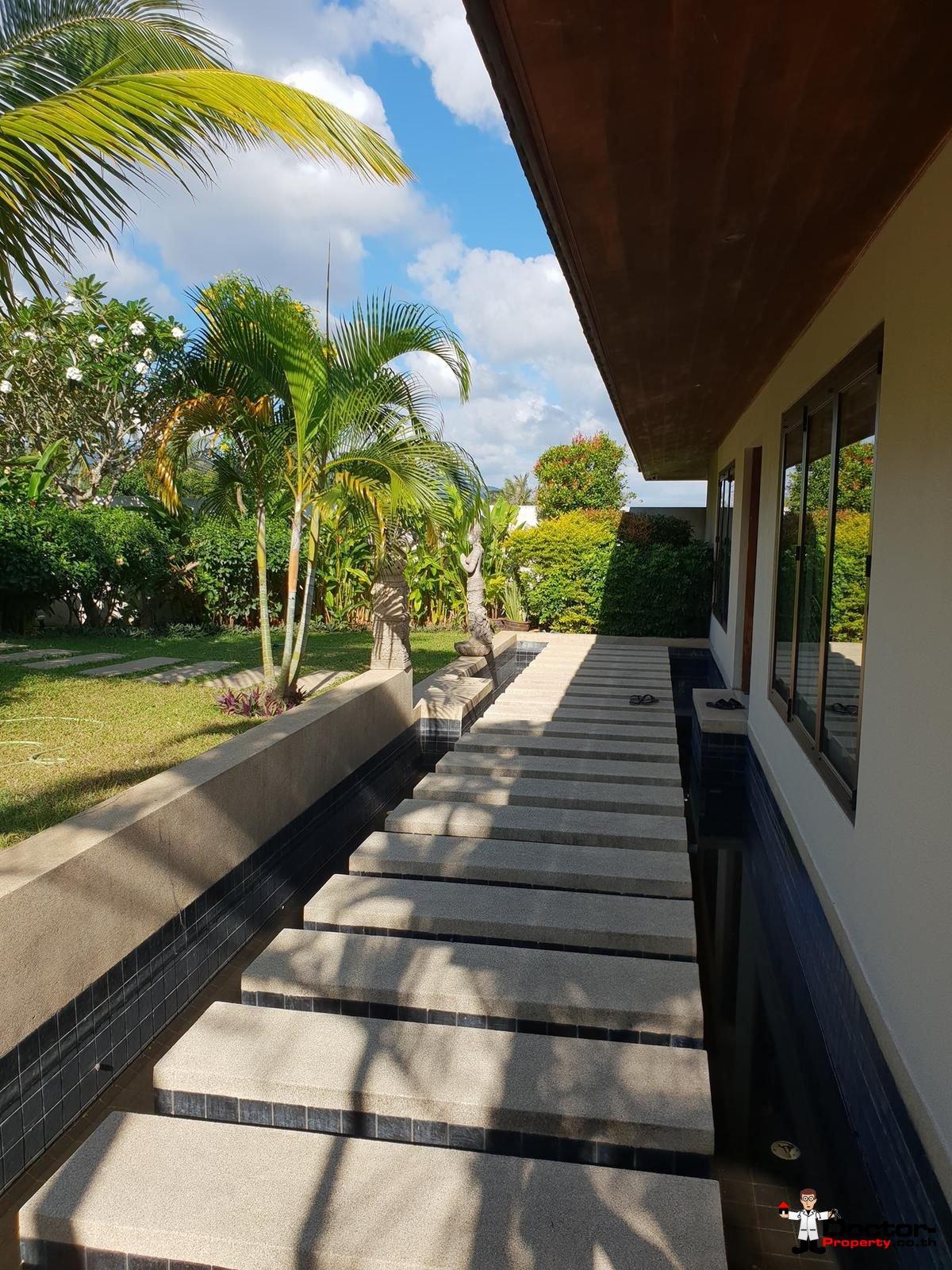 6 Bedroom Villa with Sea View - Bophut - Koh Samui - for sale 10