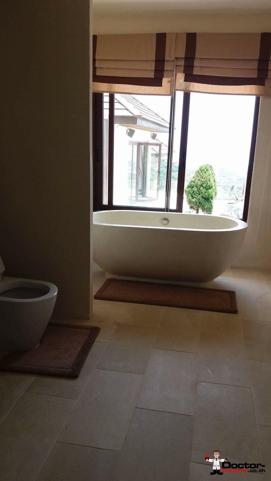 6 Bedroom Villa with Sea View - Bophut - Koh Samui - for sale 19