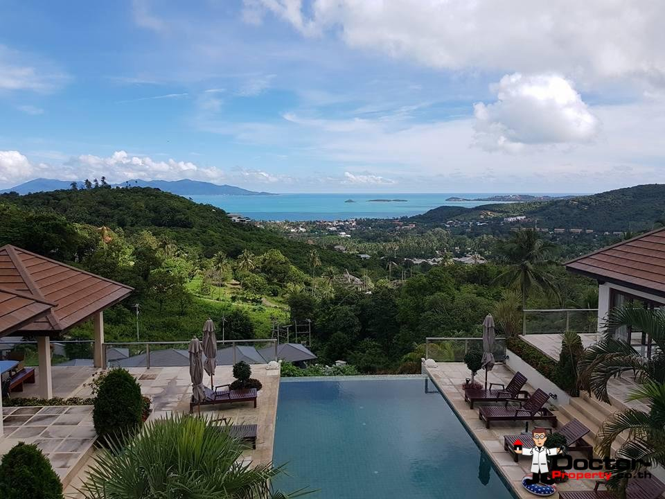 6 Bedroom Villa with Sea View - Bophut - Koh Samui - for sale 6
