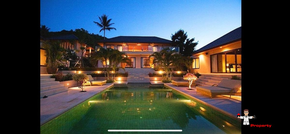 6 Bedroom Villa with Sea View - Bophut - Koh Samui - for sale 11