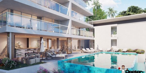 New 2 Bedroom Apartment with Sea View - Bang Por - Koh Samui