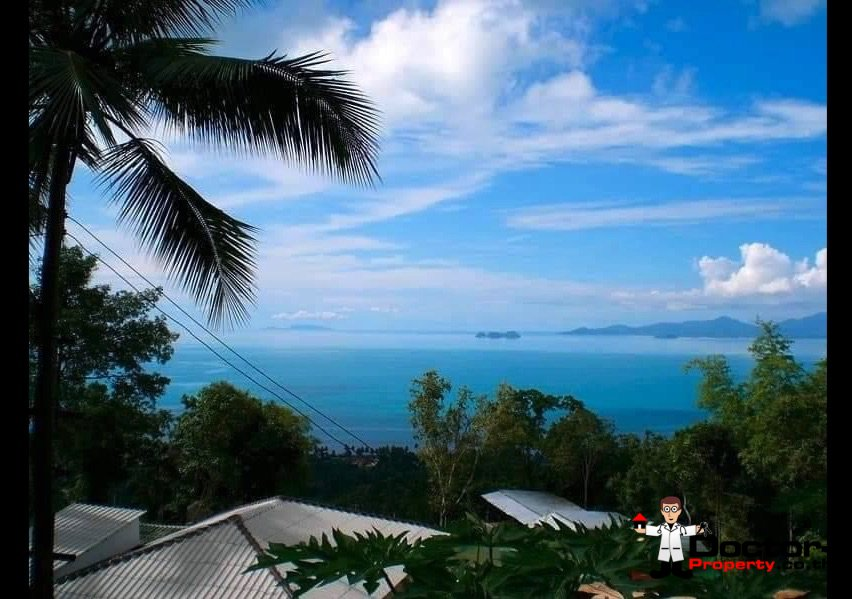 7 Rai Sea View Land - Bang Por - Koh Samui - for sale