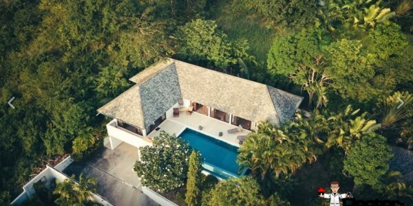 2 Bedroom Villa with Sea View - Bophut - Koh Samui - for sale