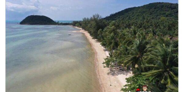 3 Rai Beachfront Land - Bang Makham - Koh Samui - for sale