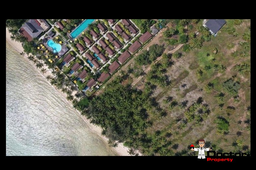 3 Rai Beachfront Land - Bang Makham - Koh Samui - for sale 9