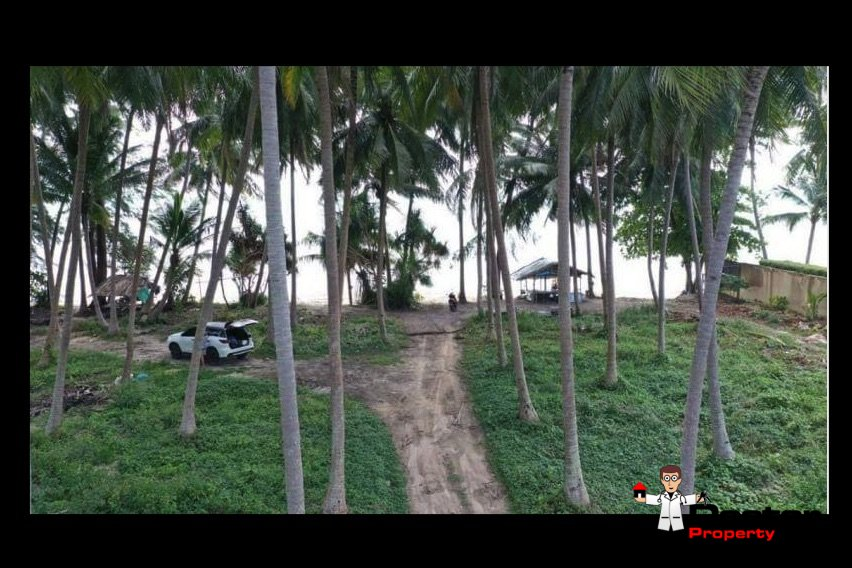 3 Rai Beachfront Land - Bang Makham - Koh Samui - for sale 7