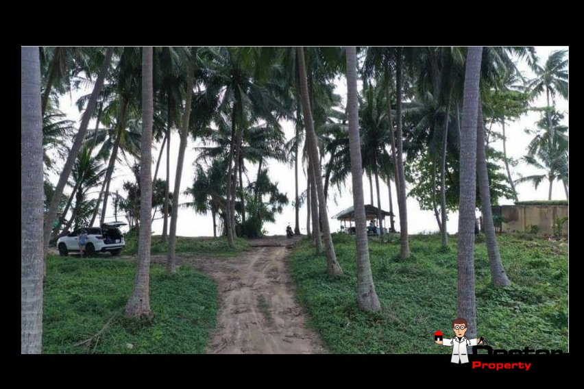 3 Rai Beachfront Land - Bang Makham - Koh Samui - for sale 6