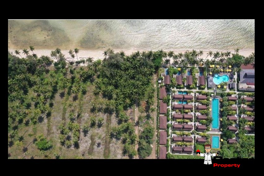3 Rai Beachfront Land - Bang Makham - Koh Samui - for sale 5