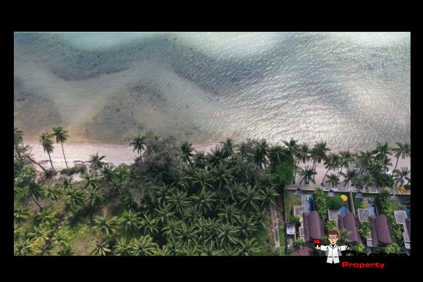 3 Rai Beachfront Land - Bang Makham - Koh Samui - for sale 3