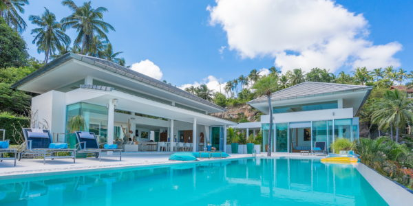 A Luxury 5 Bedroom Pool Villa in Laem Set, Koh Samui - For Sale
