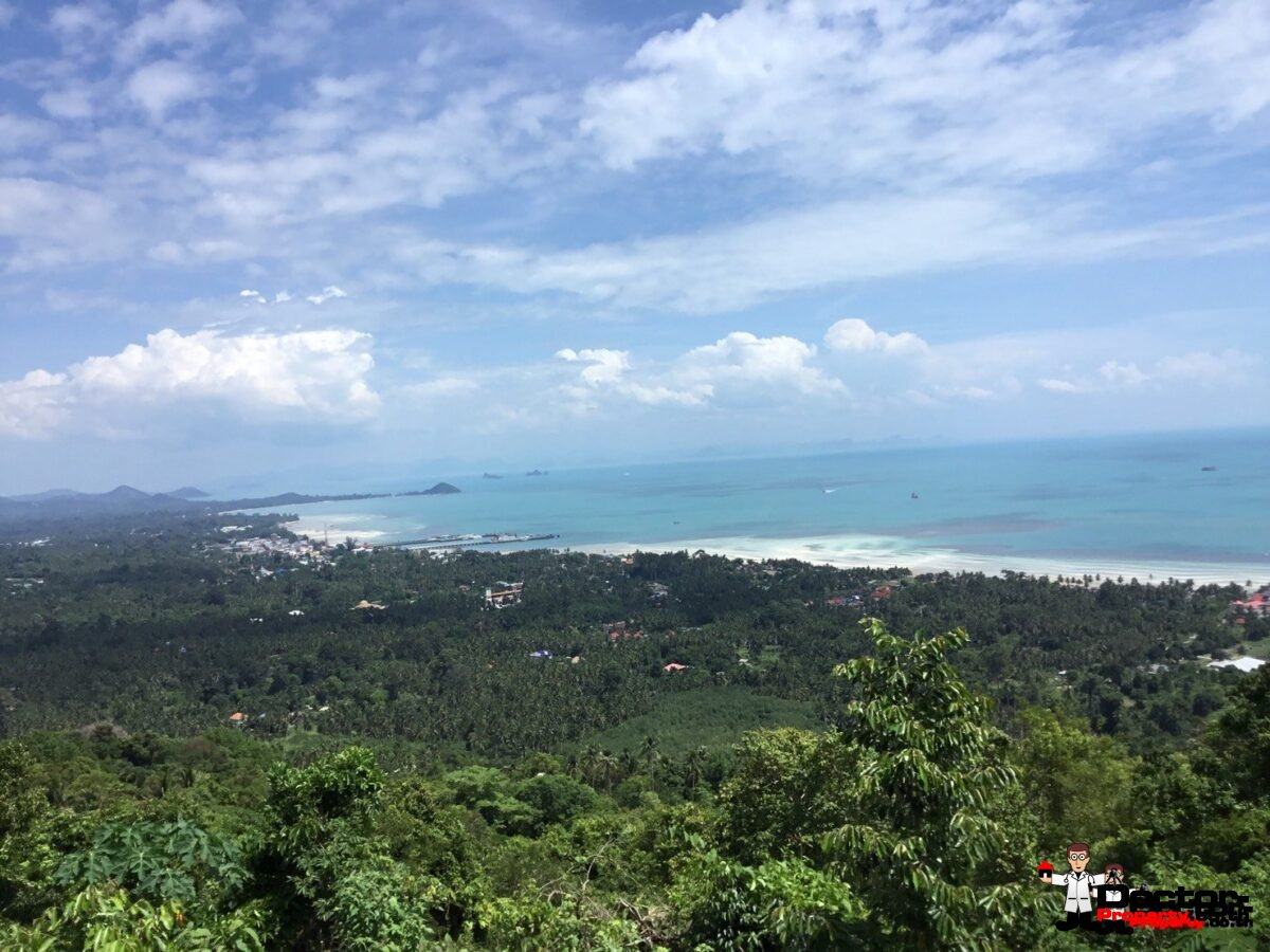15 Rai Sea View Land - Bang Makham - Koh Samui - for sale