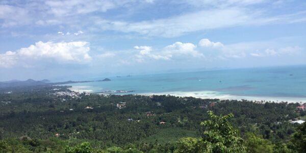 15 Rai Sea View Land - Bang Makham - Koh Samui - for sale