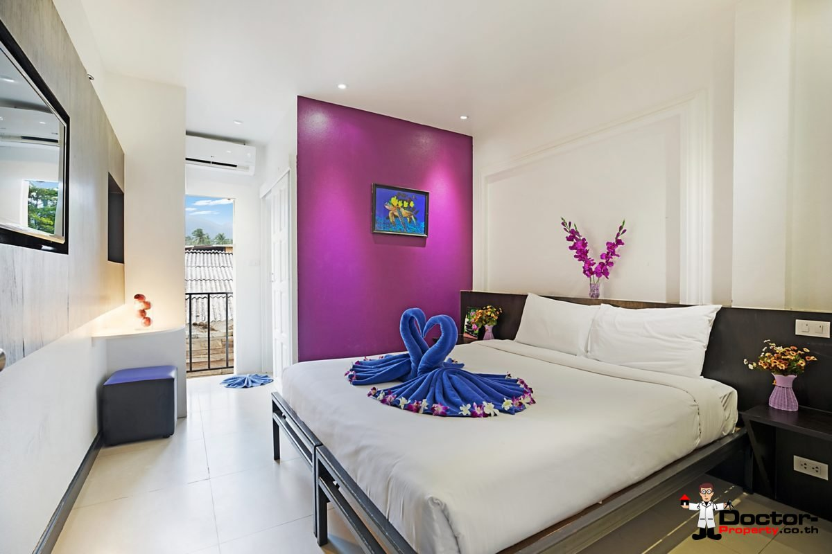 Hotel for sale 34 Rooms - Lamai Beach - Koh Samui