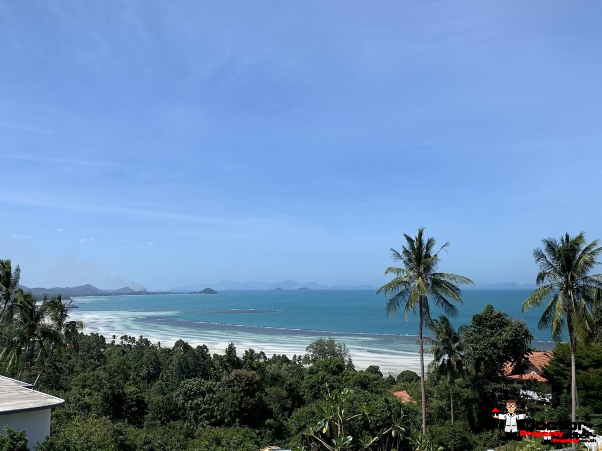 Stunning plots in Bang Makham Hills – Koh Samui – Sea View Land for sale