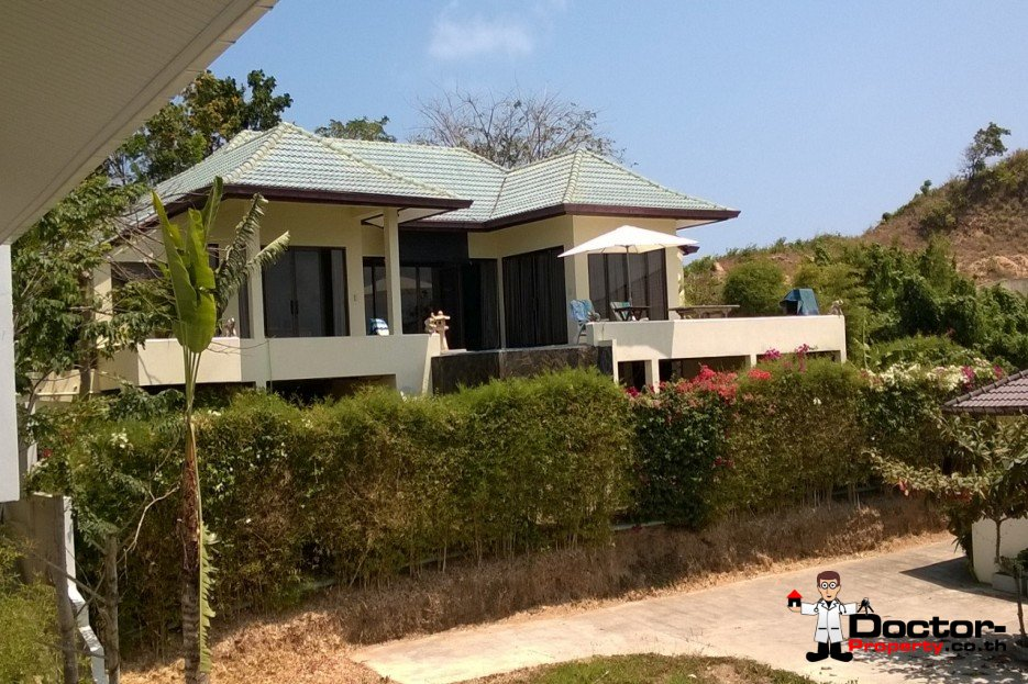 3 Bedroom Villa with Stunning Sea View - Plai Laem, Choeng Mon - For Sale