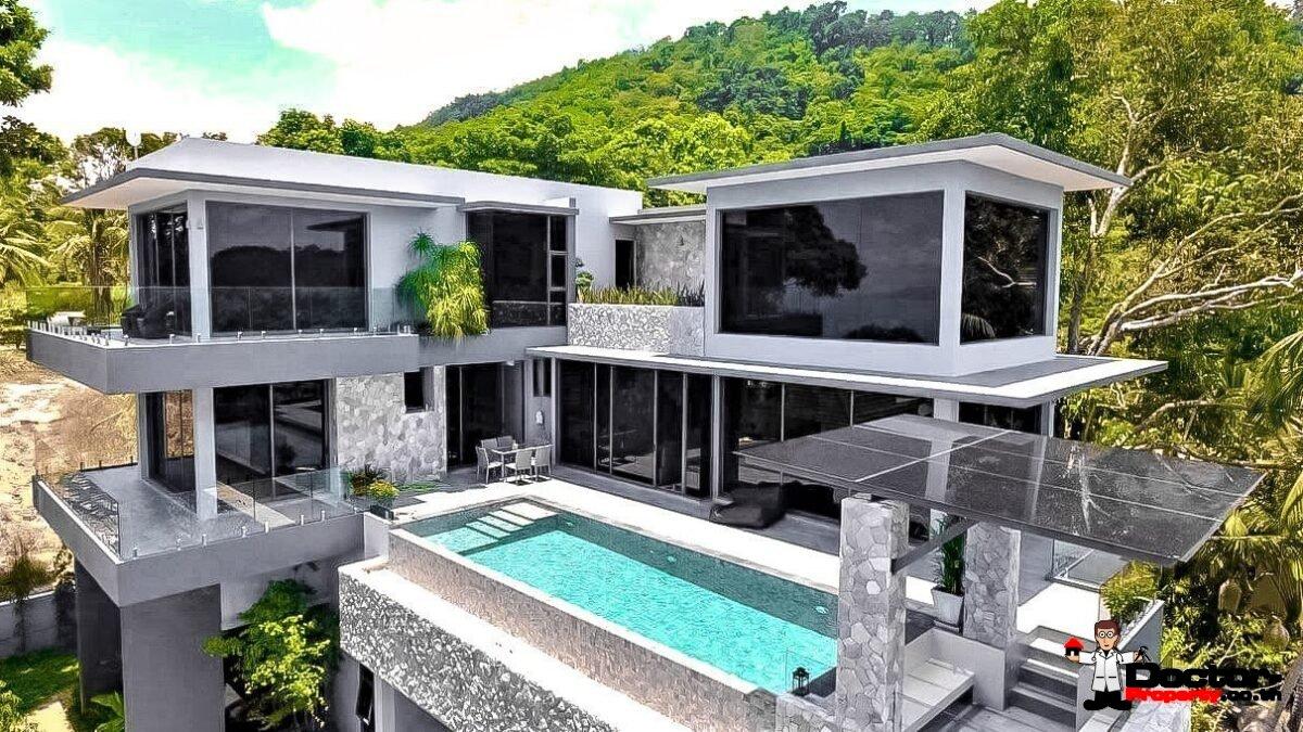 6 Bedroom Pool Villa in Private Estate - Bang Por, Koh Samui - For Sale