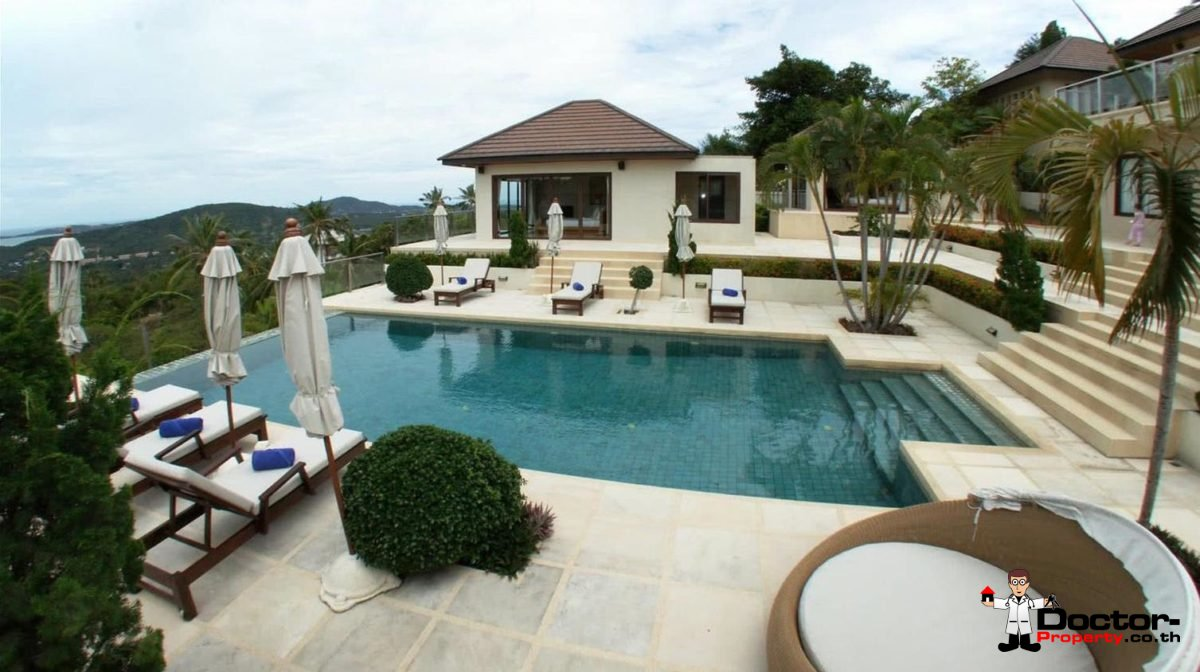 6 Bedroom Villa with Sea View - Bophut - Koh Samui - for sale 1