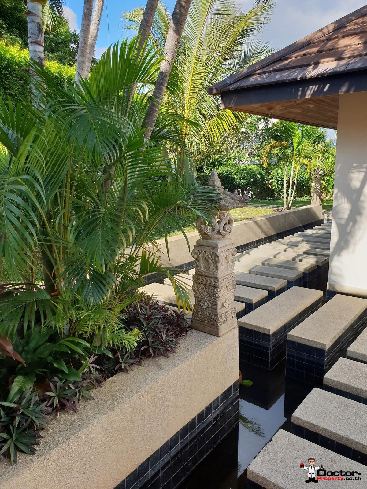 6 Bedroom Villa with Sea View - Bophut - Koh Samui - for sale 12