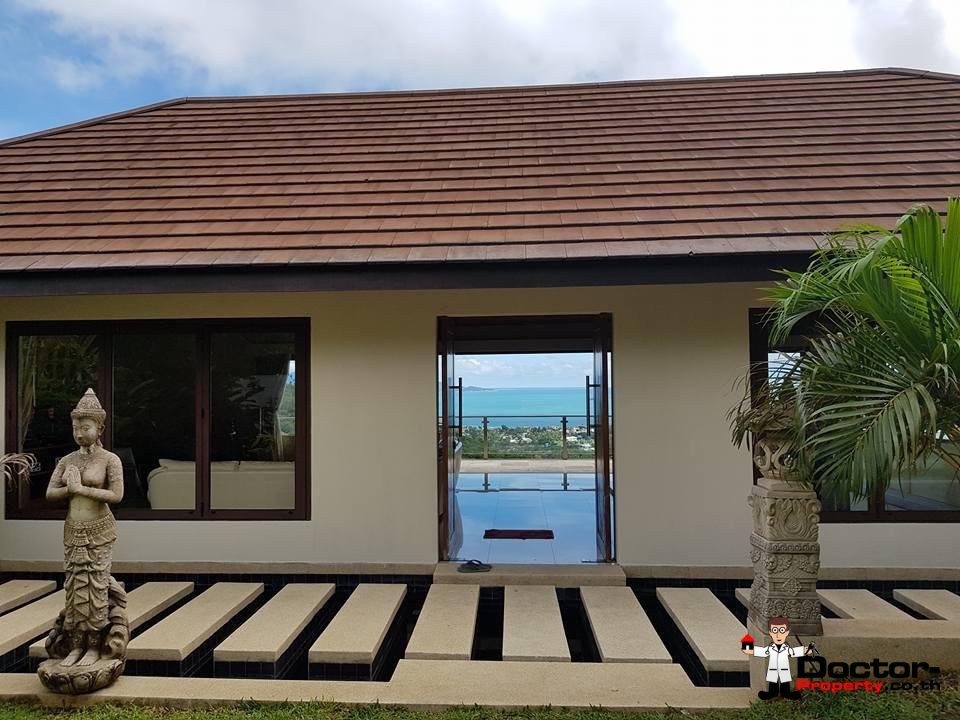 6 Bedroom Villa with Sea View - Bophut - Koh Samui - for sale 8