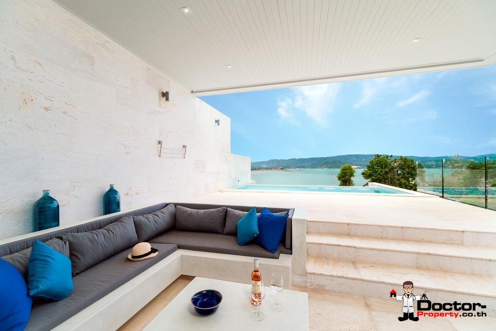 4 Bedroom Villa with Pool and Sea View - Plai Laem, Koh Samui - For Sale