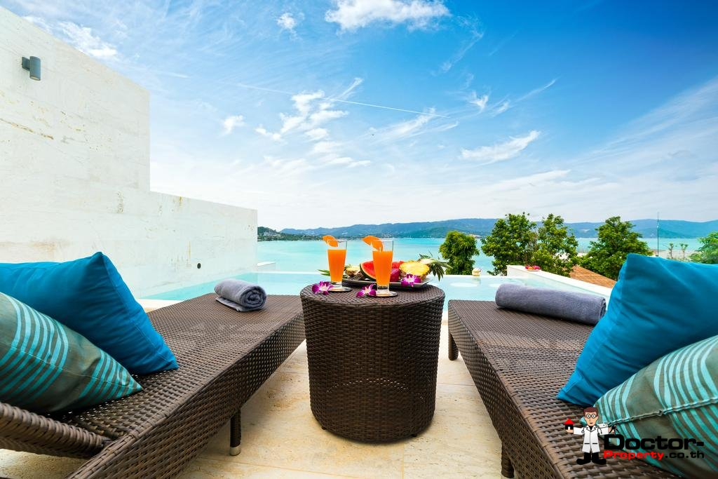 4 Bedroom Villa with Pool and Sea View - Plai Laem, Koh Samui - For Sale