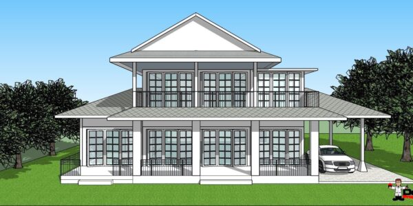 4 Schlafzimmer Pool Villa in einer ruhigen Gegend - Na Muang, Koh Samui - Zum Verkaufv