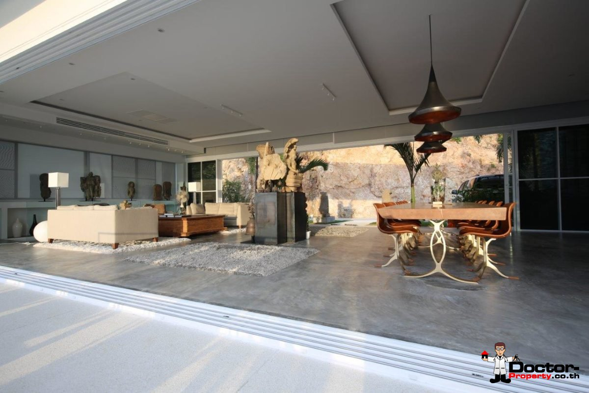 New 6 Bed Pool Villa with Sea Views – Big Buddha, Koh Samui – For Sale