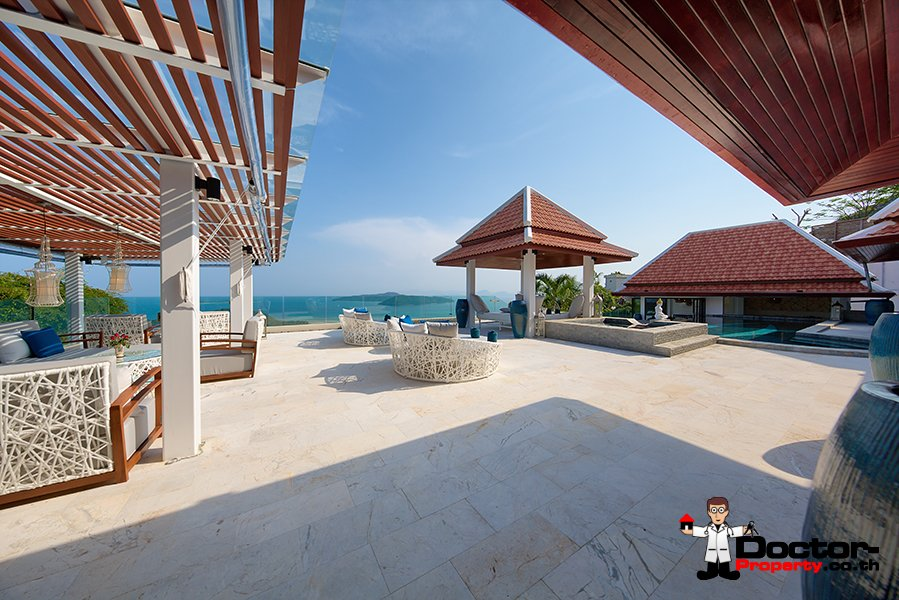 Magnificent 7 Bedroom Residence - Taling Ngam, Koh Samui - For Sale
