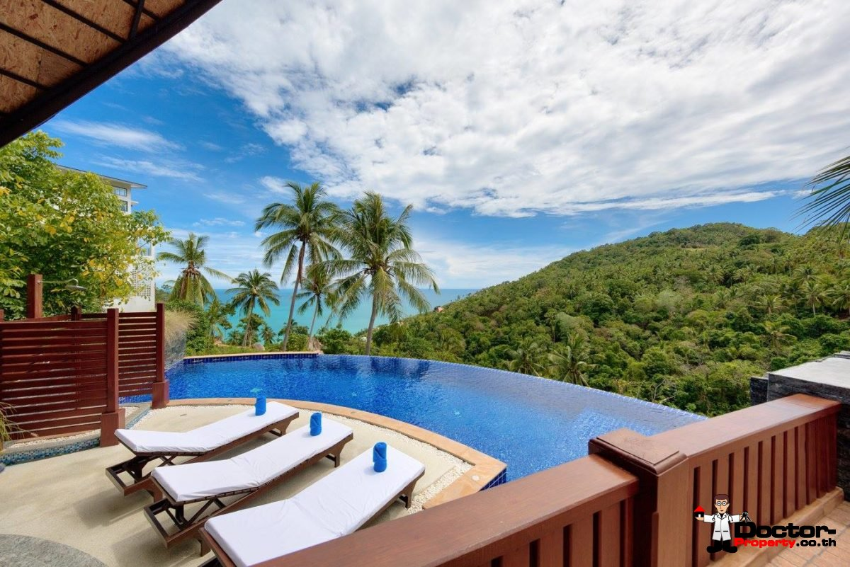 Seaview Restaurant / Apartment / Villas - Chaweng Noi, Koh Samui - For Sale