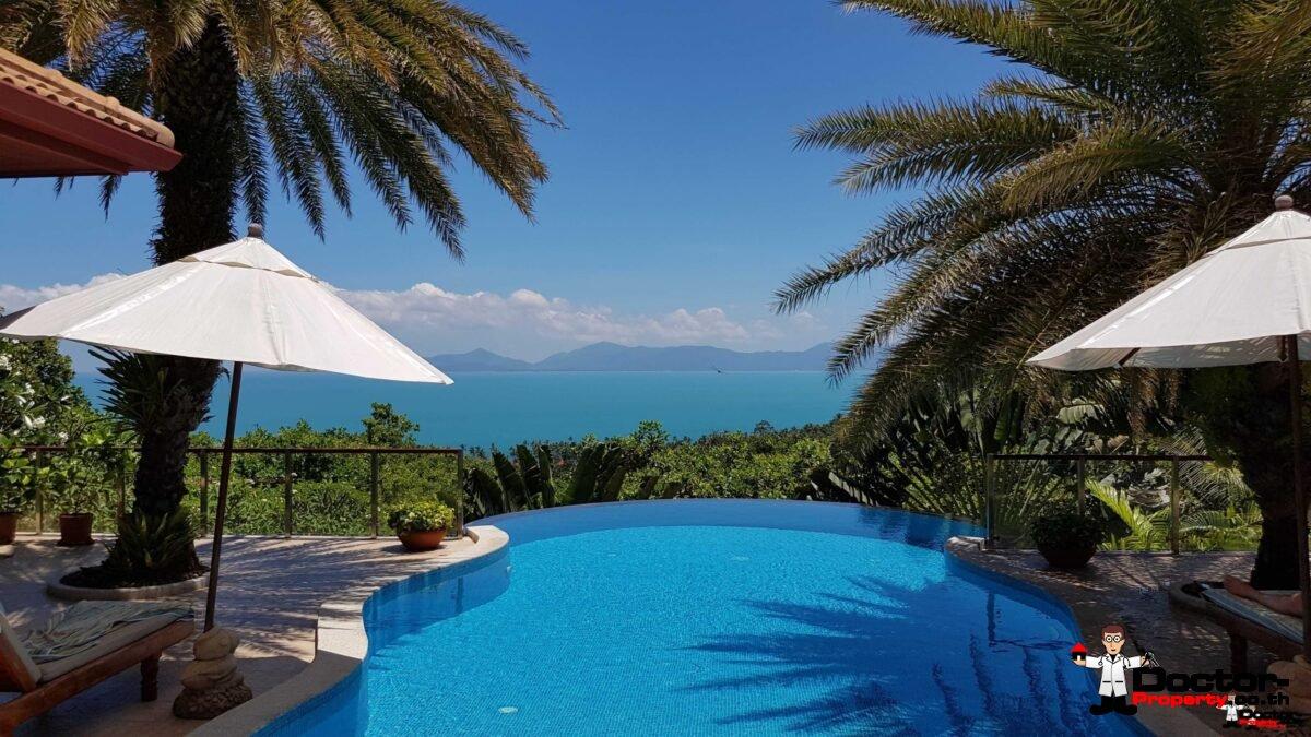 Amazing 3 Bedroom Villa with Sea View - Bang Por - Koh Samui - for sale