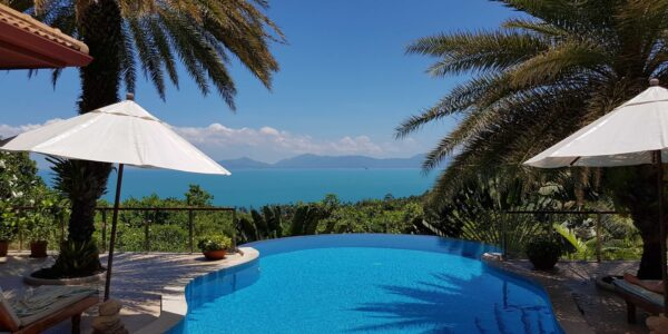 Amazing 3 Bedroom Villa with Sea View - Bang Por - Koh Samui - for sale