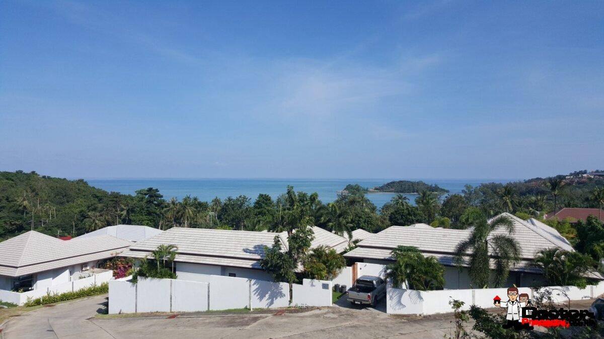 Beautiful Sea View Land (7 Plots) - Choeng Mon - Koh Samui - for sale