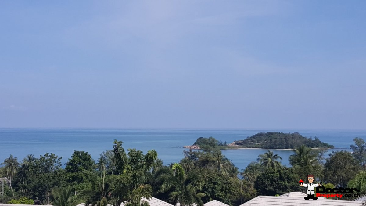 Beautiful Sea View Land (7 Plots) - Choeng Mon - Koh Samui - for sale