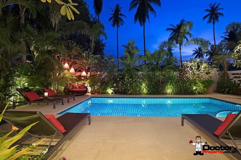 4 Bedroom Pool Villa - Thong Krut - Koh Samui - for sale
