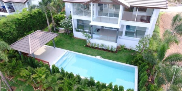 New 3 Bedroom Sea View Villa - Choeng Mon - Koh Samui - for sale