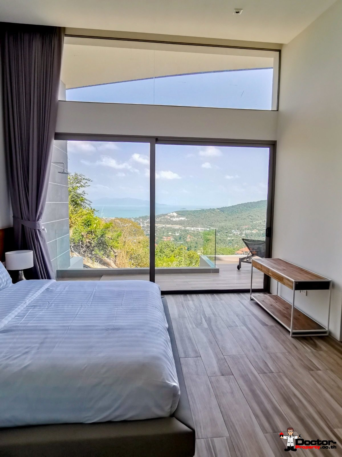New 3 Bedroom Villa with Sea View in BoPhut - Koh Samui - For Sale