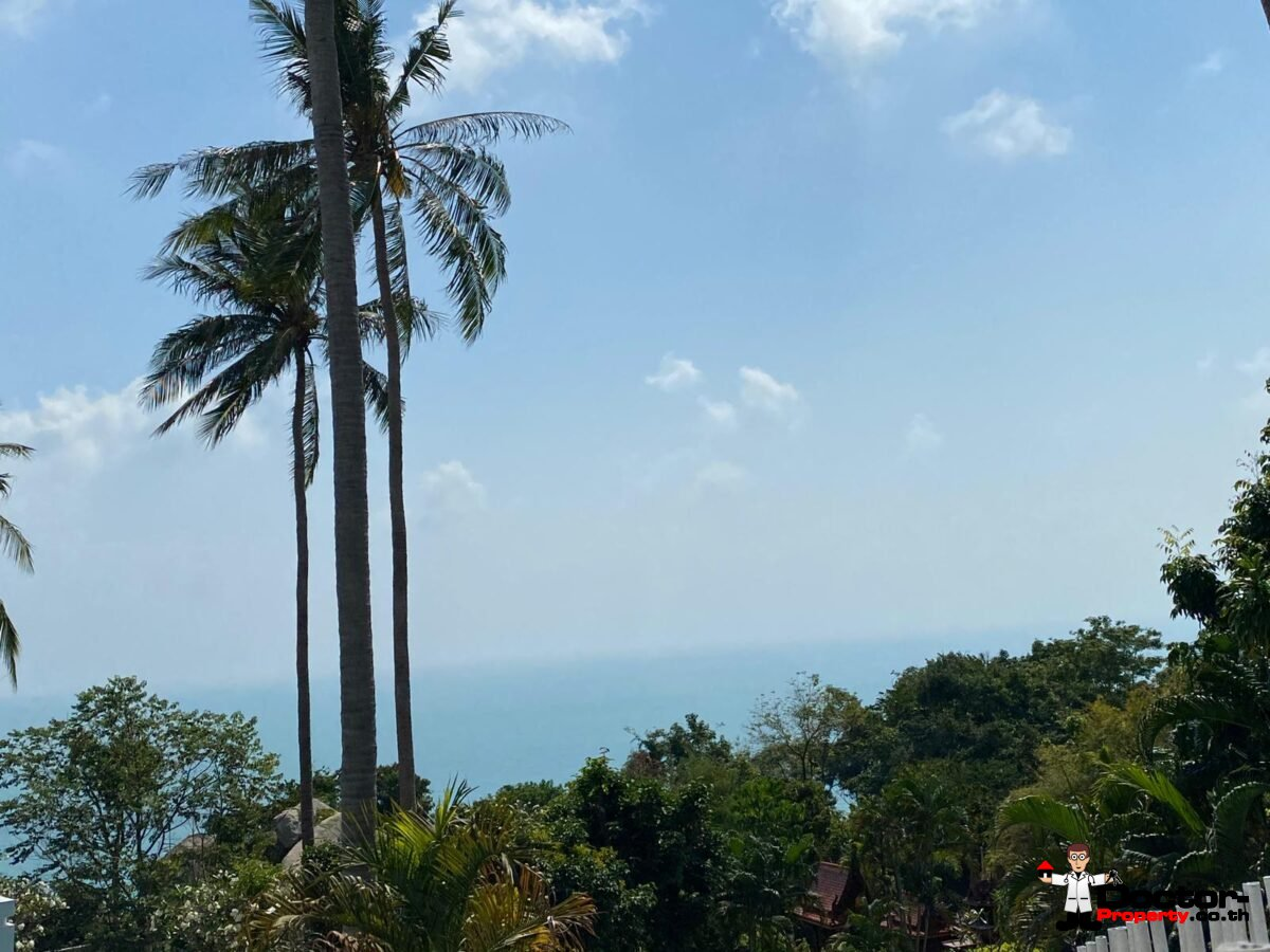 4 Bedroom Sea View Villa – Chaweng Noi – Koh Samui – for sale
