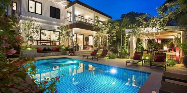 4 Bedroom Pool Villa - Thong Krut - Koh Samui - for sale