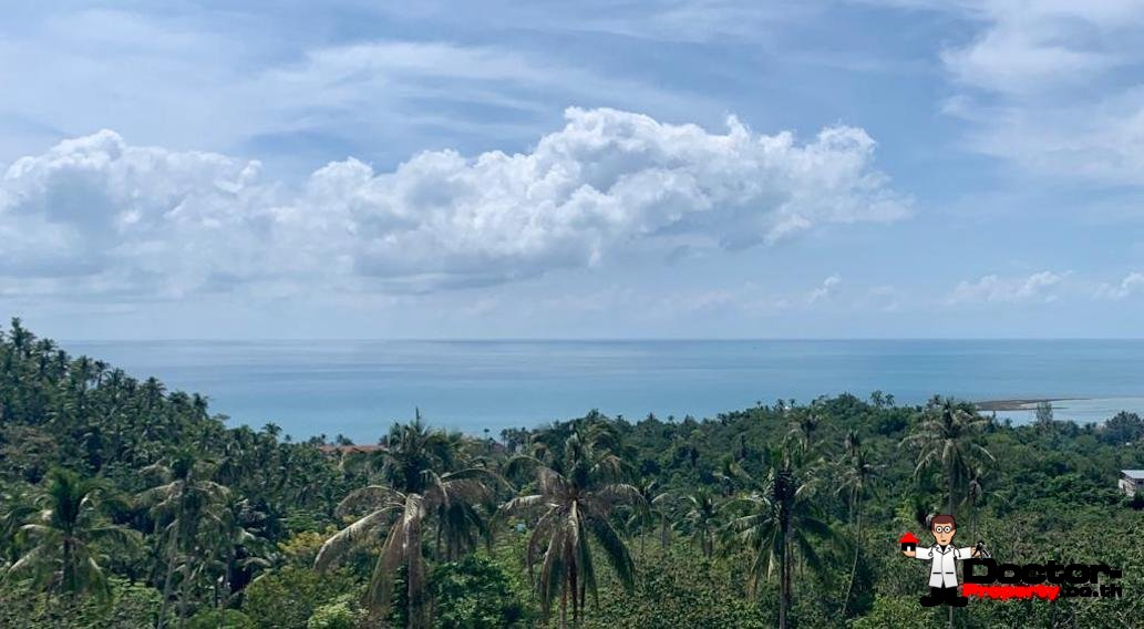 21 Rai of Sea View Land - Lamai, Koh Samui - For Sale