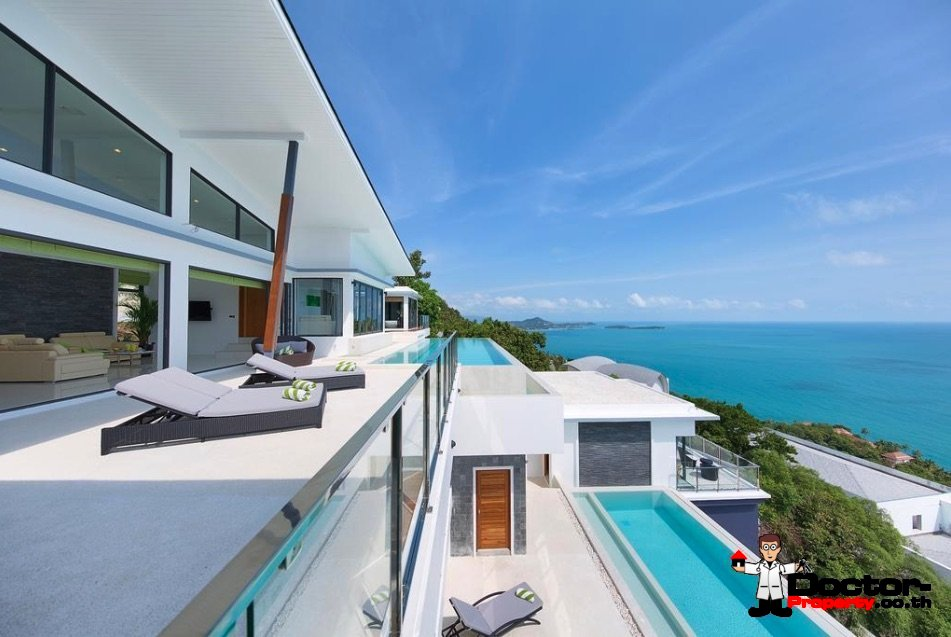 Luxurious 6 Bedroom Villa with Sea View - Chaweng Noi - Koh Samui