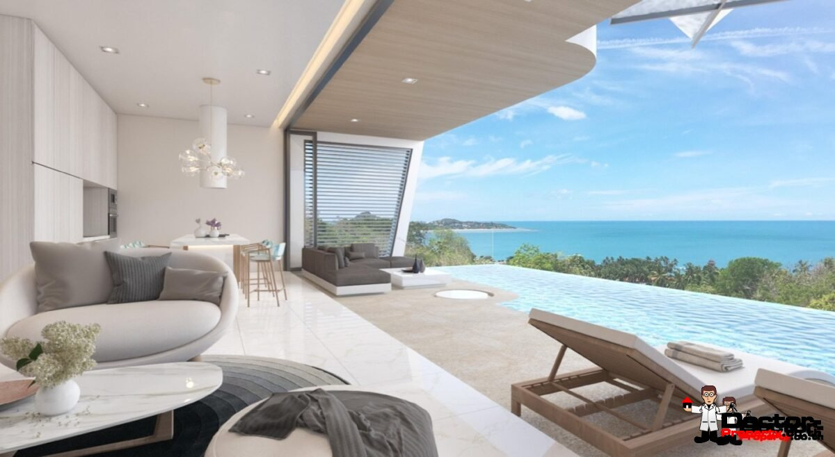 New Villa with Sea View - Bang Makham - Koh Samui