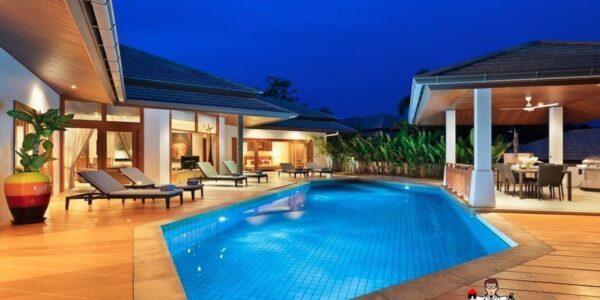 3 Bedroom Pool Villa - Choeng Mon - Koh Samui - for sale