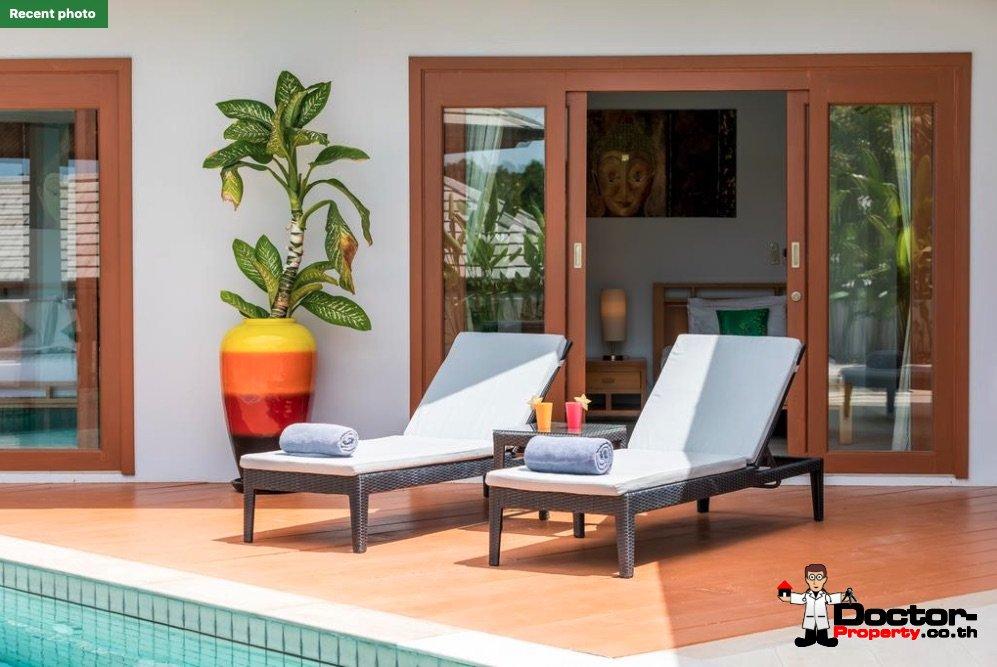 3 Bedroom Pool Villa - Choeng Mon - Koh Samui - for sale